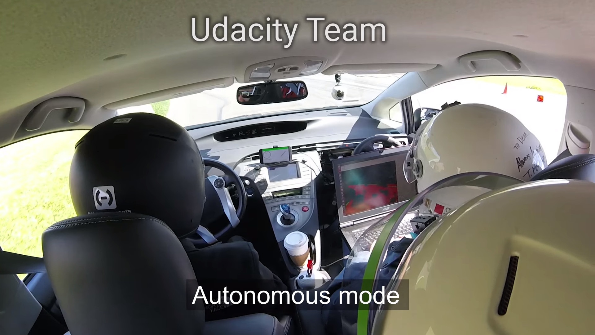 Udacity Team at Self-Racing Cars 2018