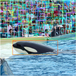 Open Images V4 - Whale and crowd