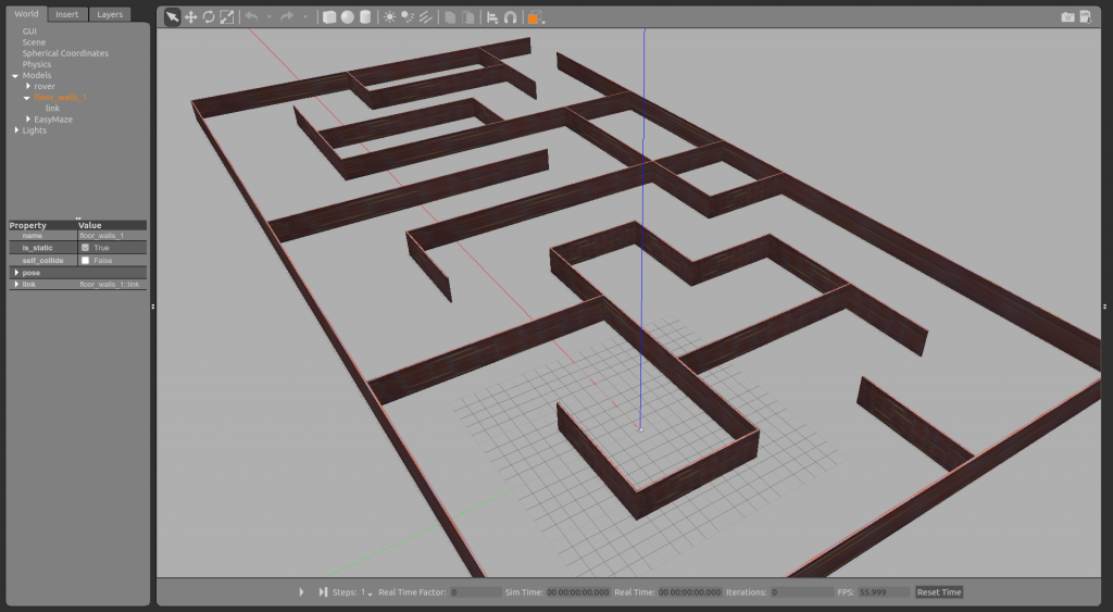 Erle Rover Maze